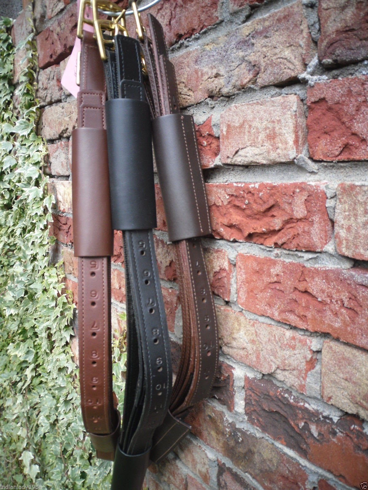 Steigbügelriemen mit Lederstulpen Loop Original Deuber & Partner verschiedene