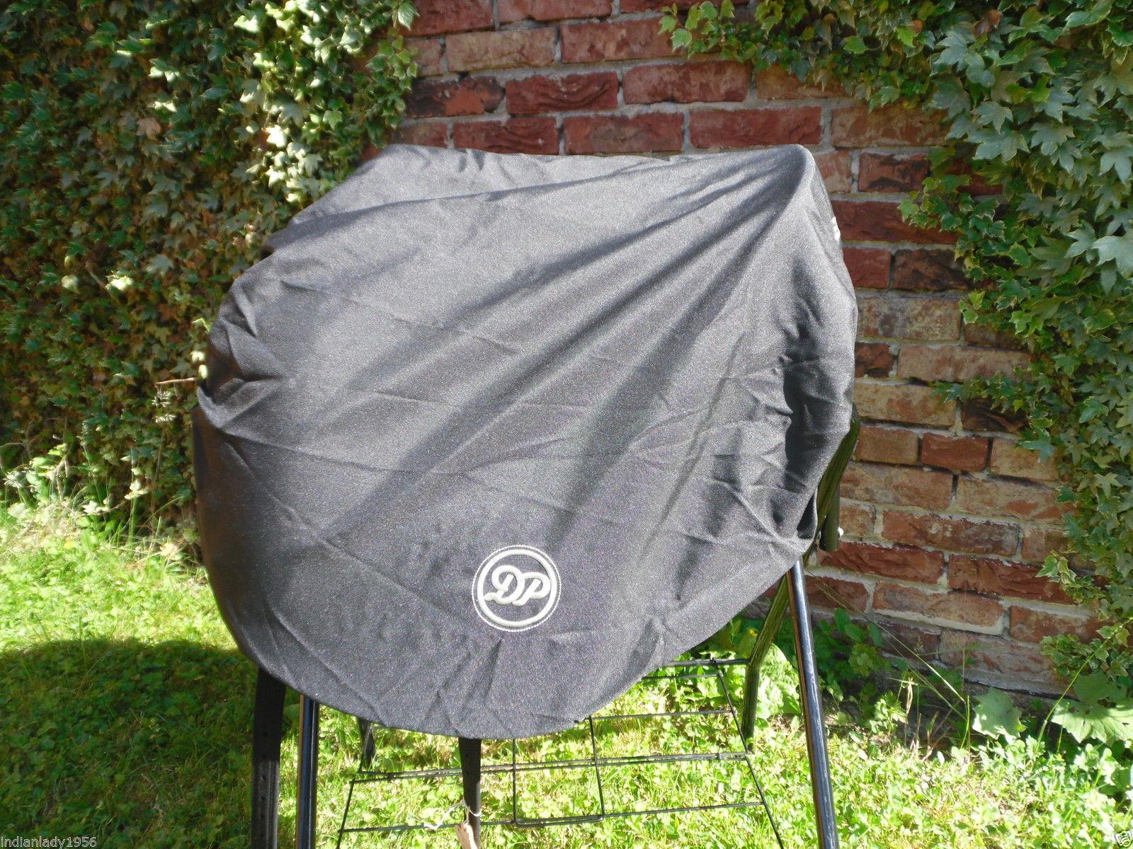 Sattelschoner für Barocksättel von Deuber & Partner schwarz Wasser/Schmutzabw.