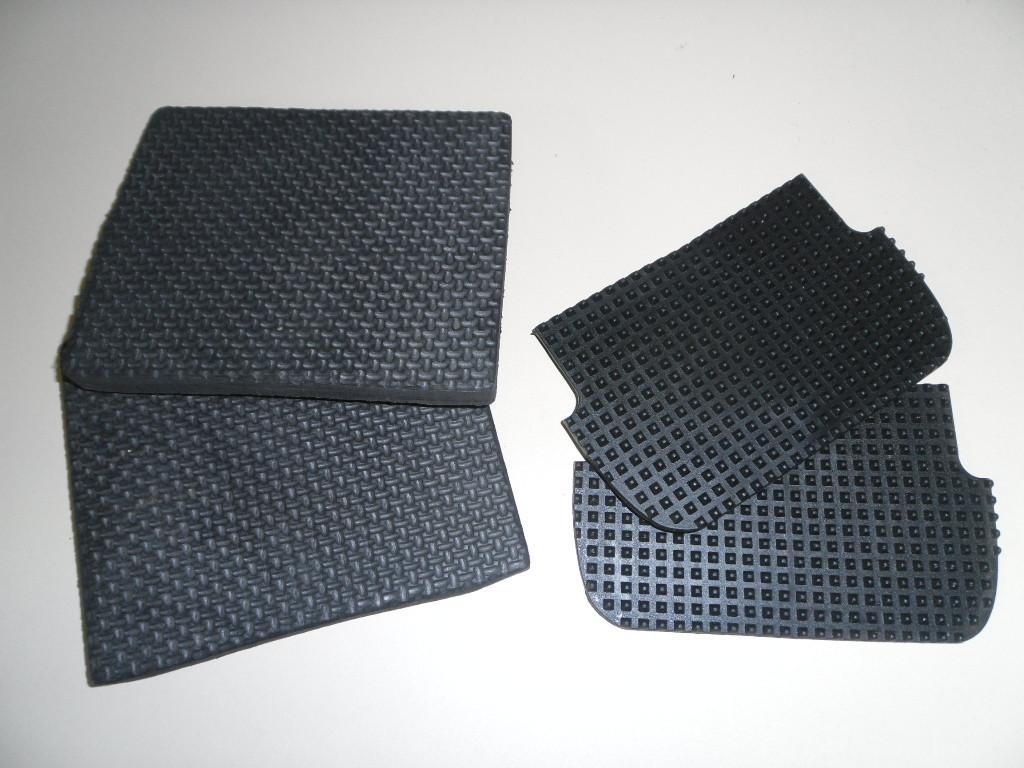 Paar Ersatzgummi für Tritt von Distanzbügeln breit oder schmal