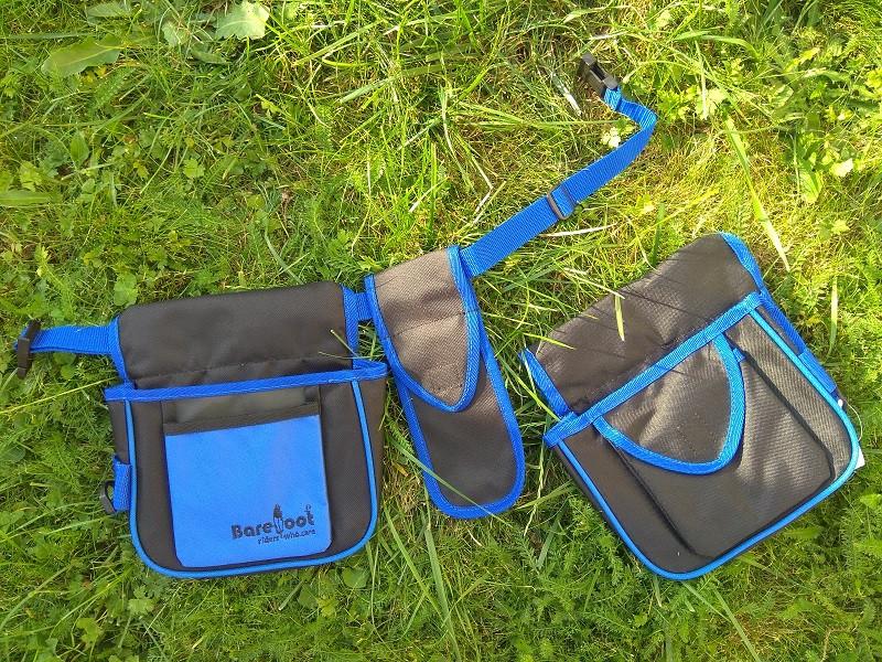 Tasche von Barefoot Multi-Belt Smartphone Tasche blau schwarz